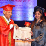 Convocation Ceremony on 14th March, 2018 B.Ed. students Academic Year 2015 - 2017 (8)
